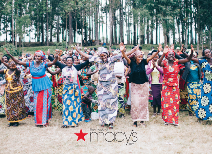 Macy's Rwanda Path to Peace Baskets