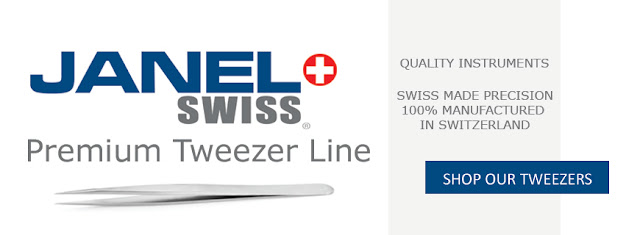 Shop Janel Swiss Tweezers Today!