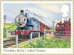 Thomas and Bertie the Bus Stamp