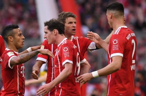 Bayern Munich crowned Bundesliga champions