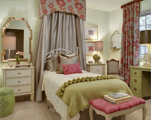Fashion trends reports interior design ideas girls - Bedroom colors for teenage girl ...