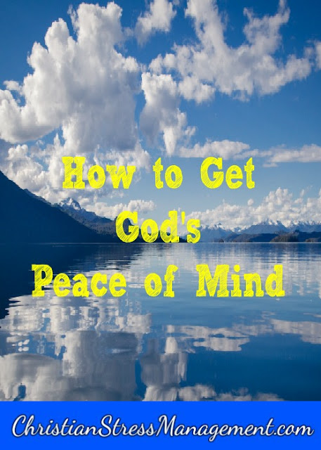 How to get God's peace of mind