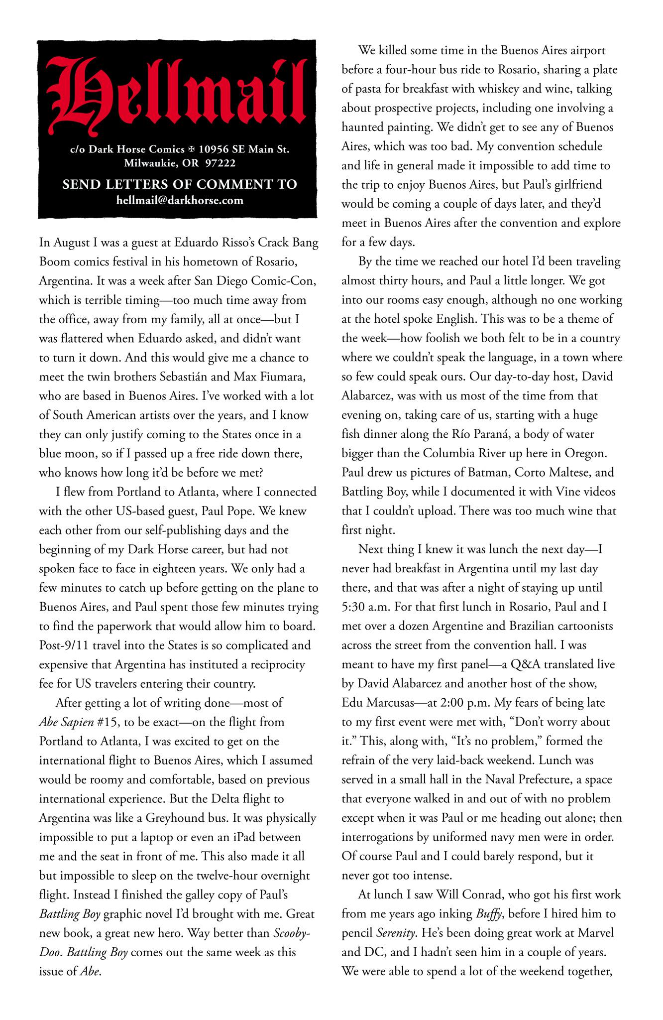 Read online Abe Sapien comic -  Issue #6 - 25