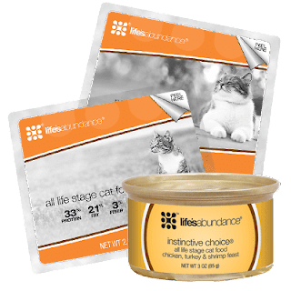 lifes abundance cat food sample