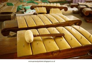 Alat Musik (Ricikan) Demung Karawitan Jawa