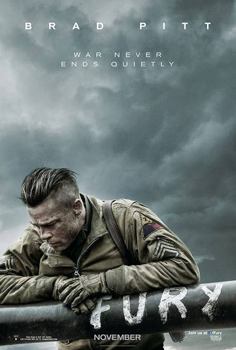 FURY 2014 Official Trailer 720p HD Brad Pitt