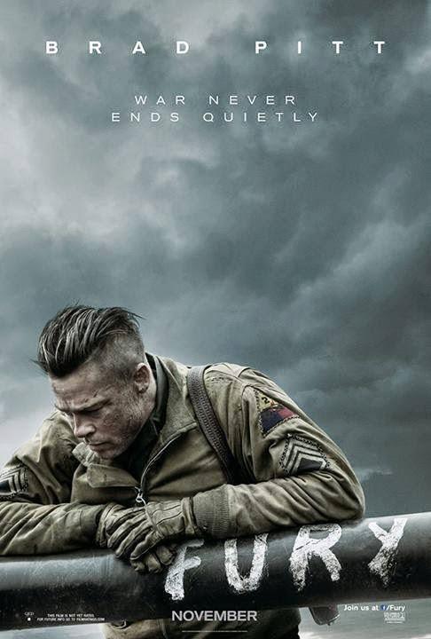 FURY 2014 Official Trailer 720p HD Brad Pitt