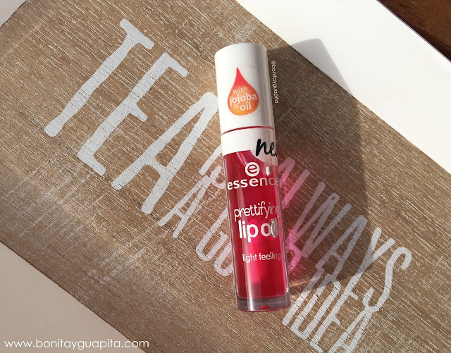 prettifying lip oil essence