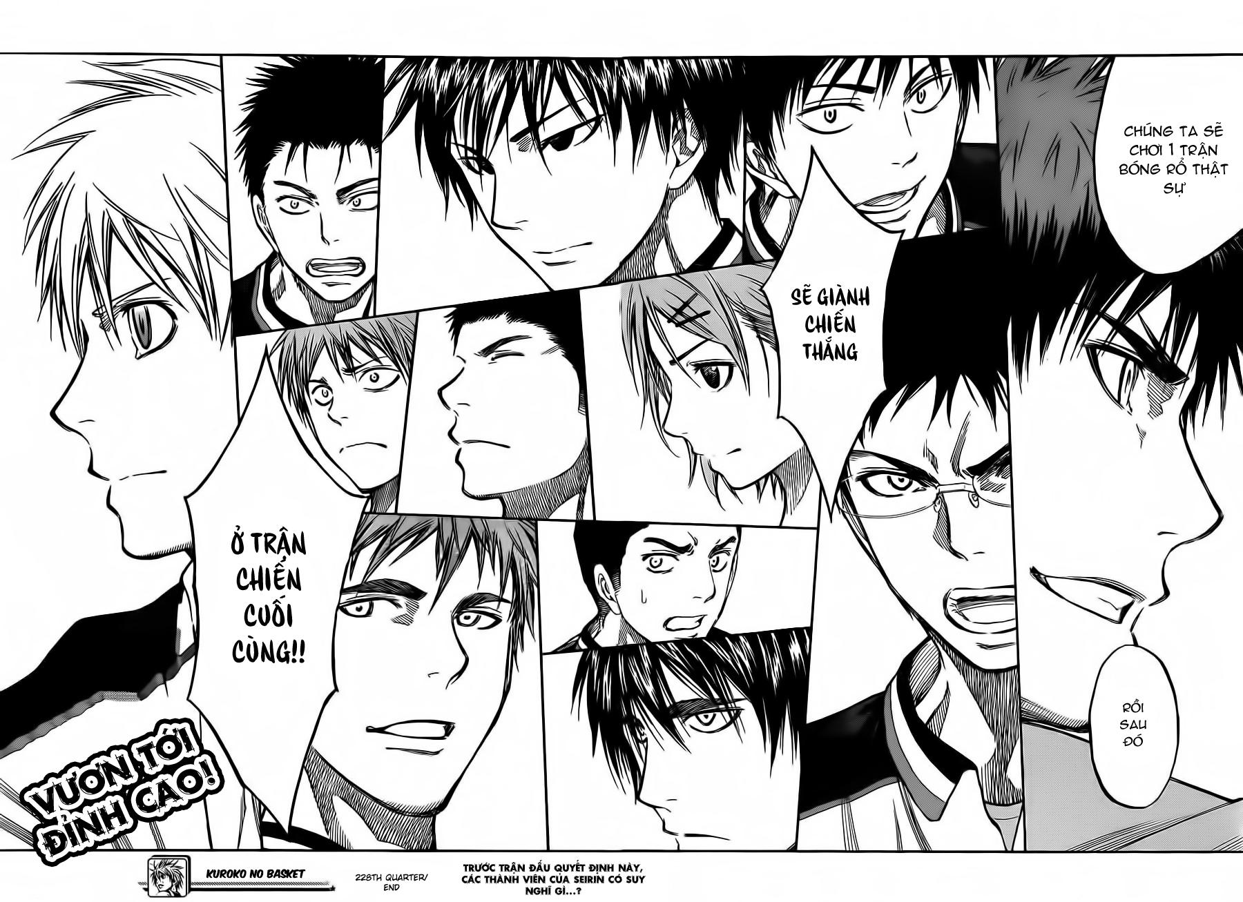 Kuroko No Basket chap 228 trang 20