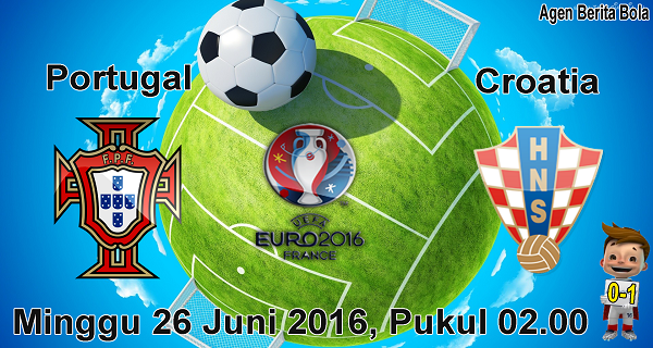 prediksi bola portugal vs croatia euro 2016