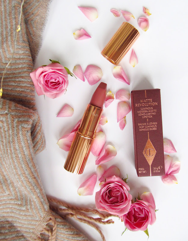 charlotte tilbury pillowtalk lipstick review