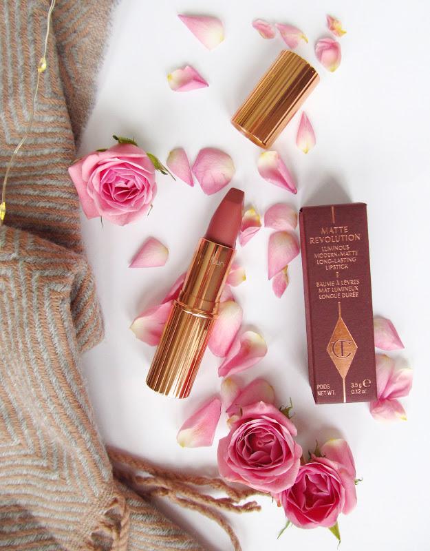 charlotte tilbury pillowtalk lipstick review
