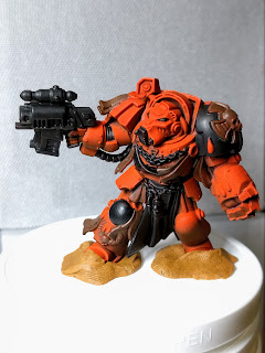 Basecoat front Brother Deino model