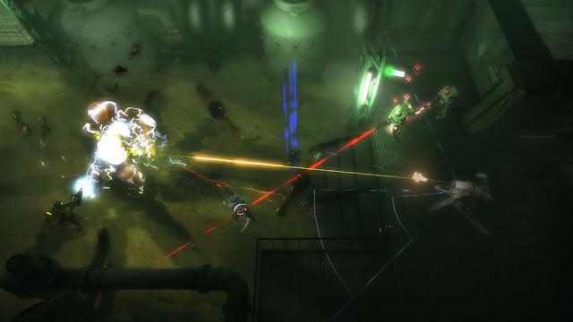 Screenshot from Alien Swam