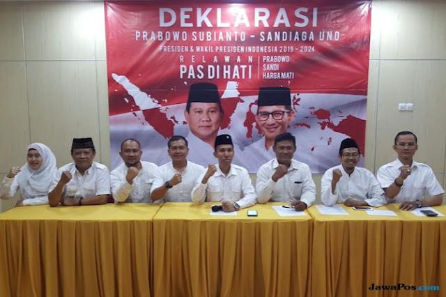 Ingin Prabowo-Sandi Menang, Kalangan Ini Bentuk Relawan PASDIHATI