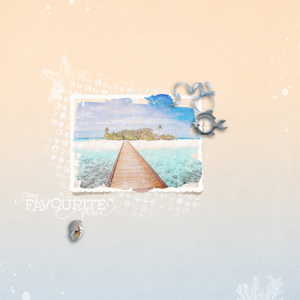 my favourite place © sylvia • sro 2018 • coastal retreat  pickle pairs collab by fayette designs & laitha