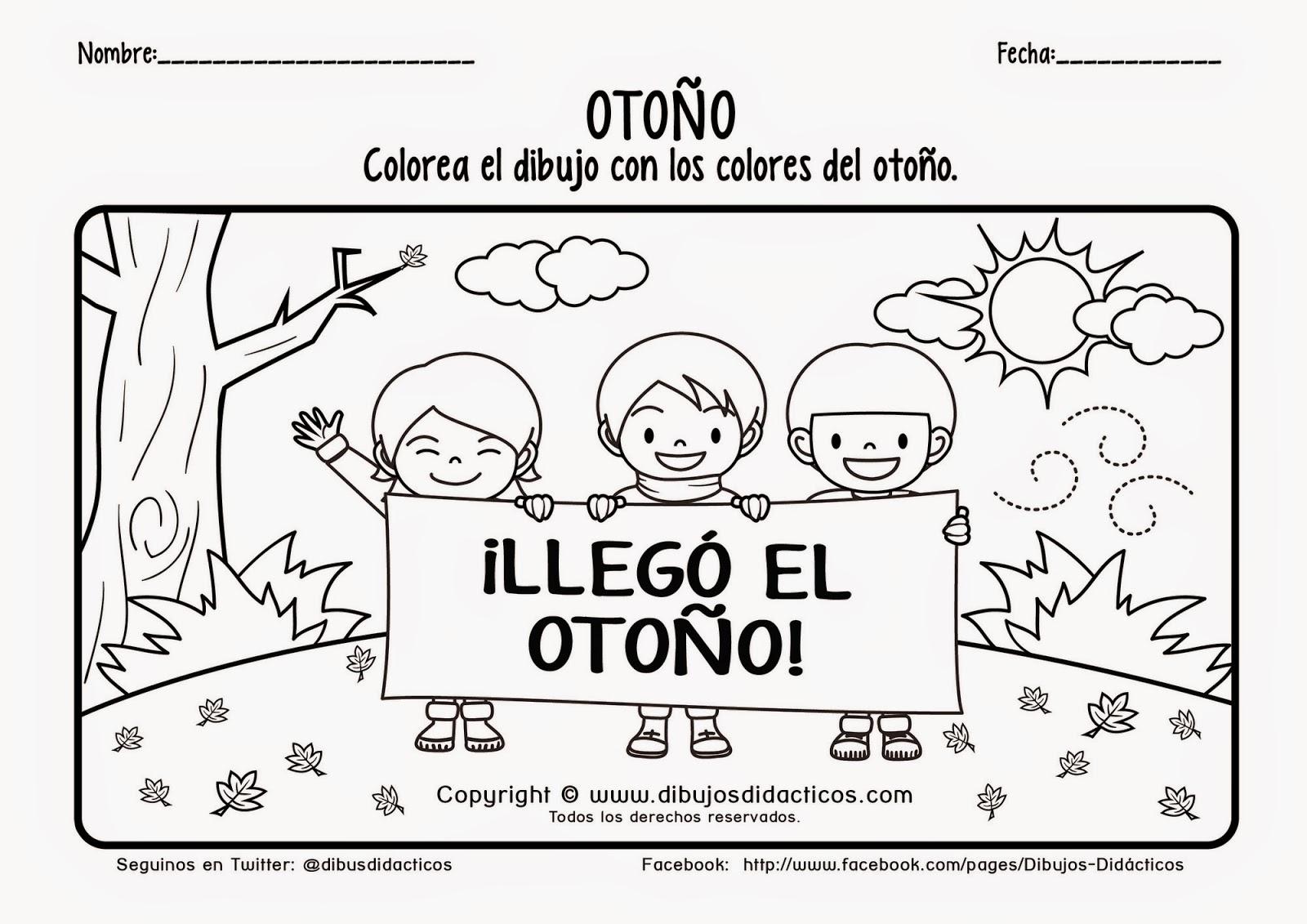 Dibujos De Las 4 Estaciones Para Colorear: SGBlogosfera. María José Argüeso: ESTACIONES DEL AÑO