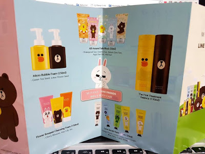 Missha X Line Friends Skin Care in Singapore