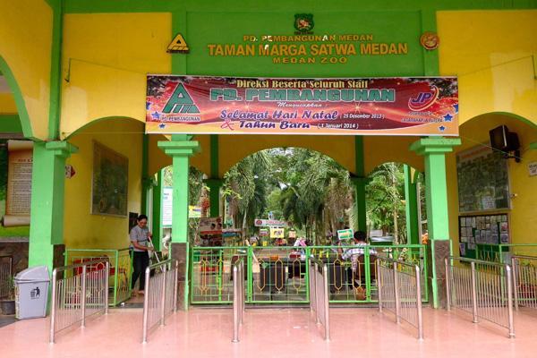 Menyusuri Kebun Binatang Kota Medan, Ada Apa Aja ?