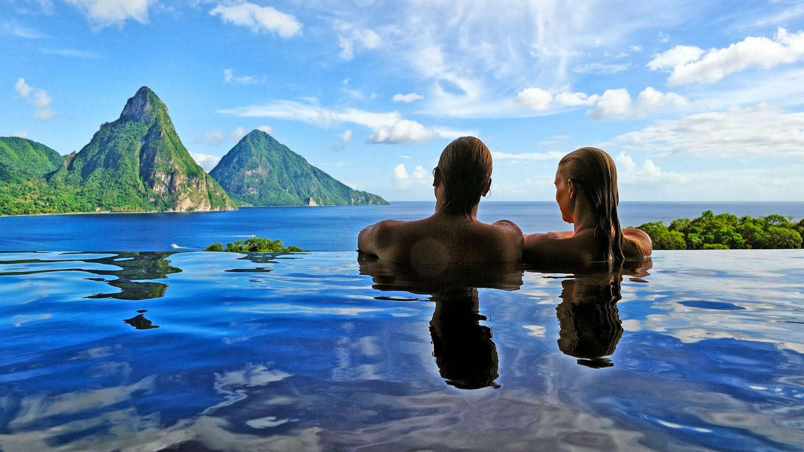 Location St Lucia In Caribbean: Travel My Way