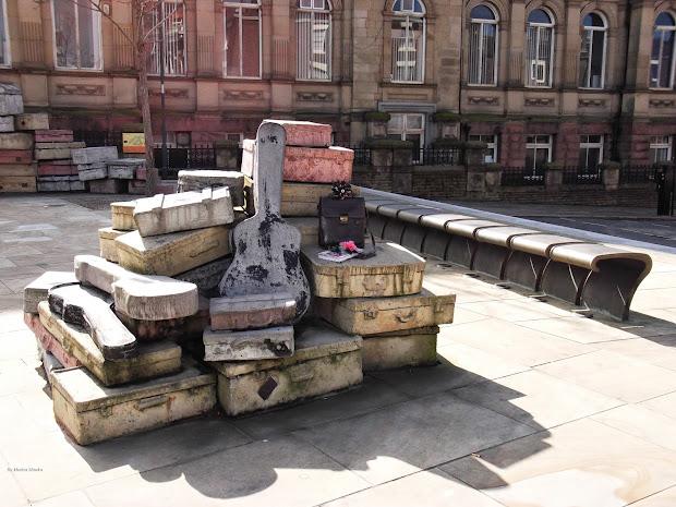Hope Street Liverpool Suitcases