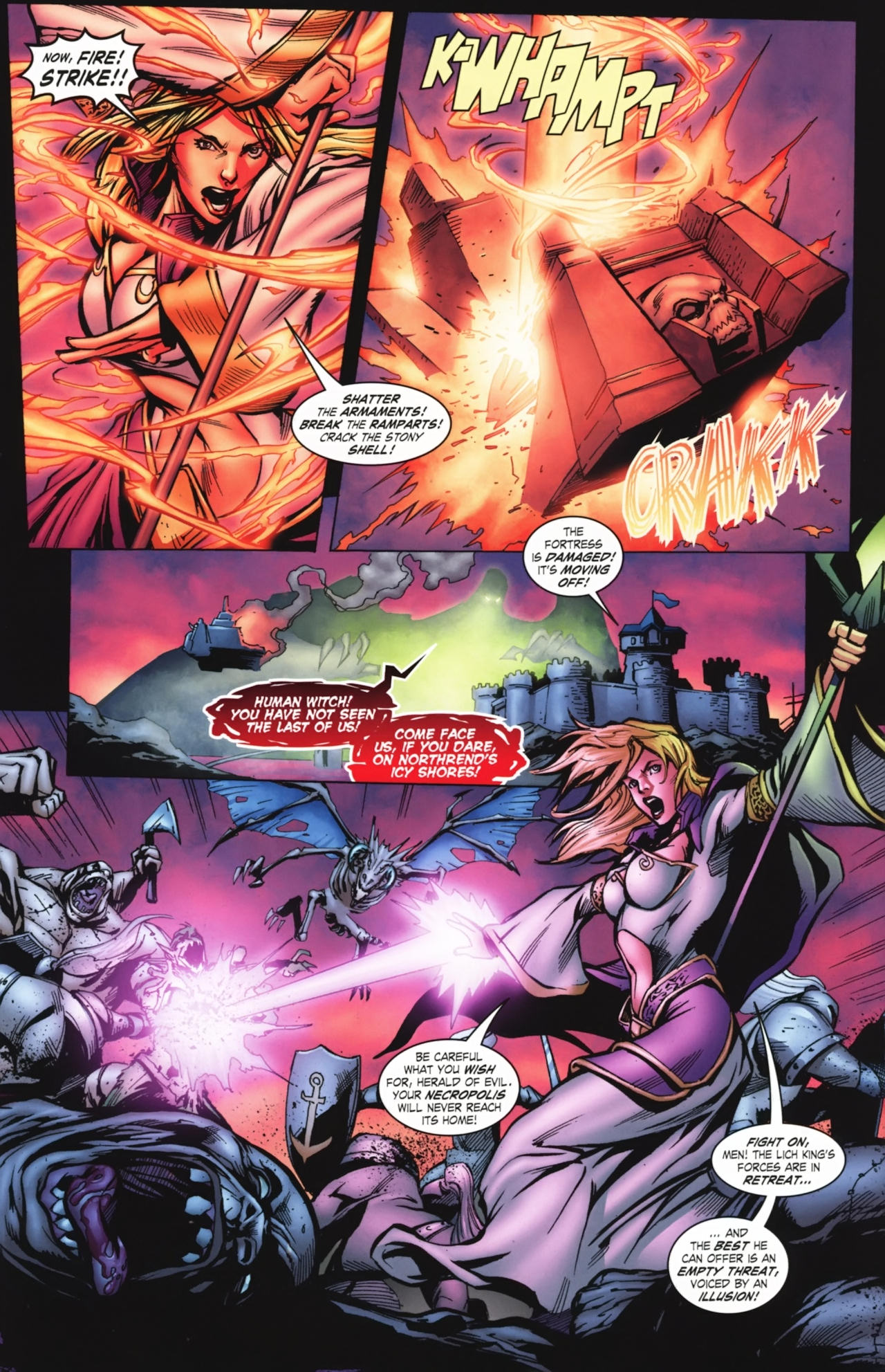 Read online World of Warcraft comic -  Issue #20 - 8