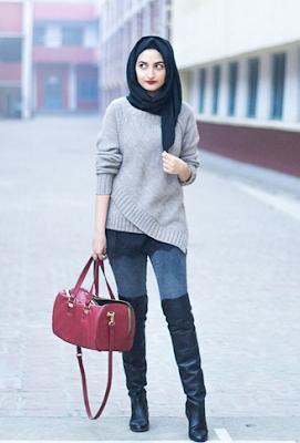 Padukan Dengan Pakaian Sweater atau T-shirt