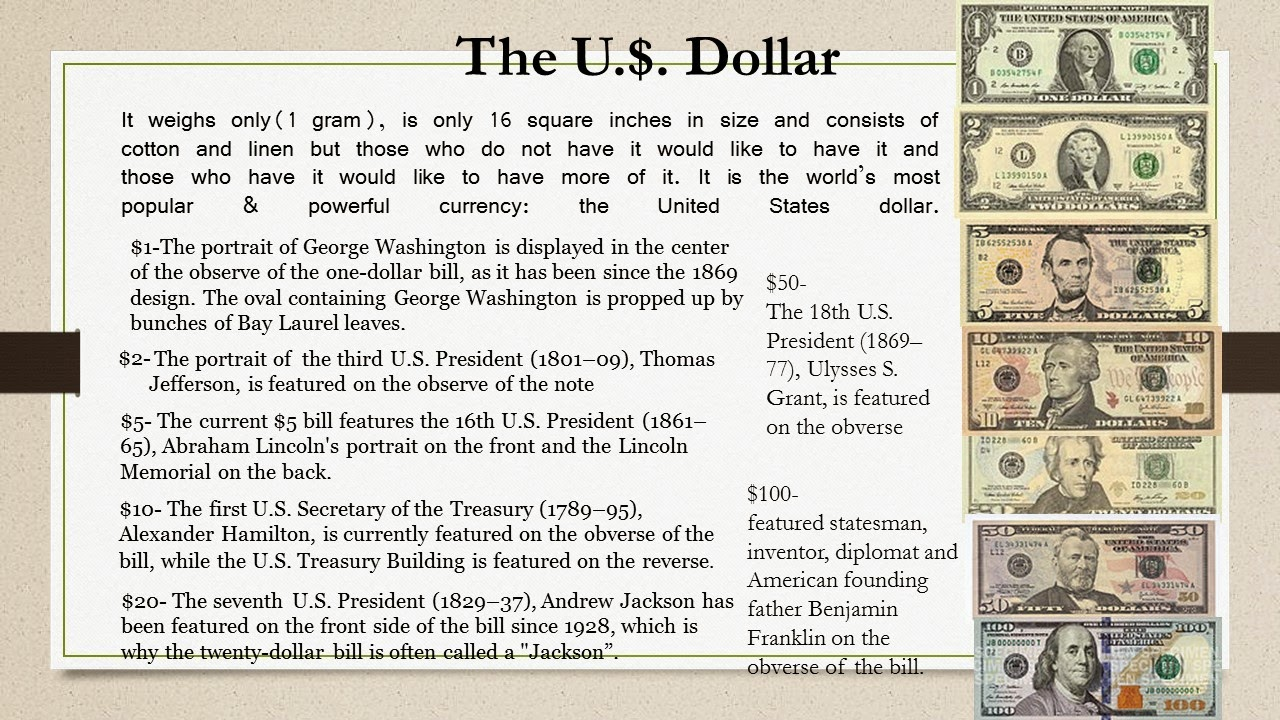 Money Matters Interesting Facts About Money