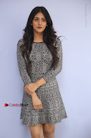 Actress Chandini Chowdary Pos in Short Dress at Howrah Bridge Movie Press Meet  0007.JPG