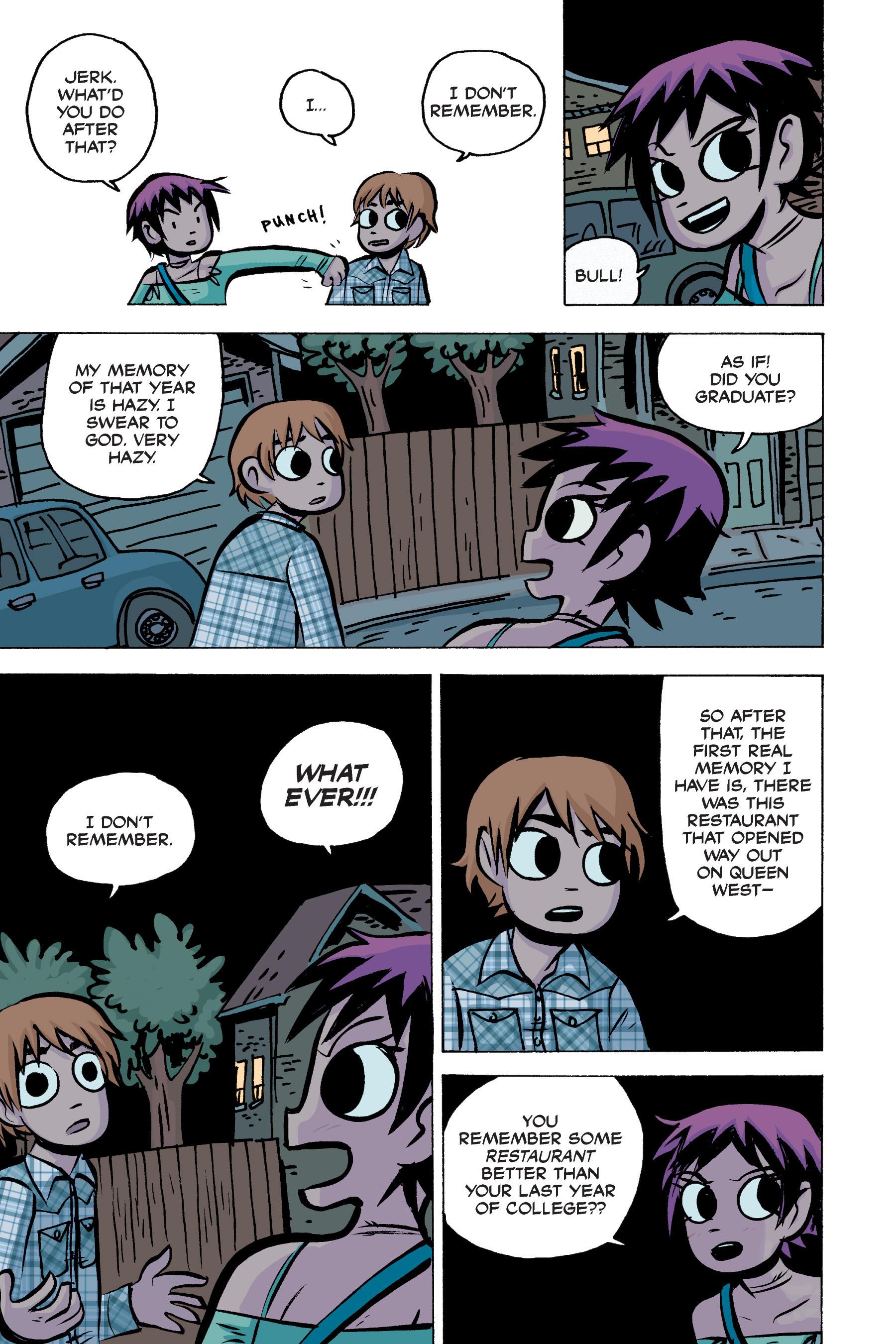 Read online Scott Pilgrim comic -  Issue #2 - 167