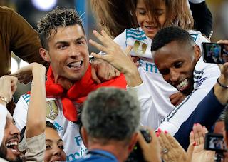 كرييستيانو رونالدو مرشح ال FIFA لأفضل لاعب في 2018