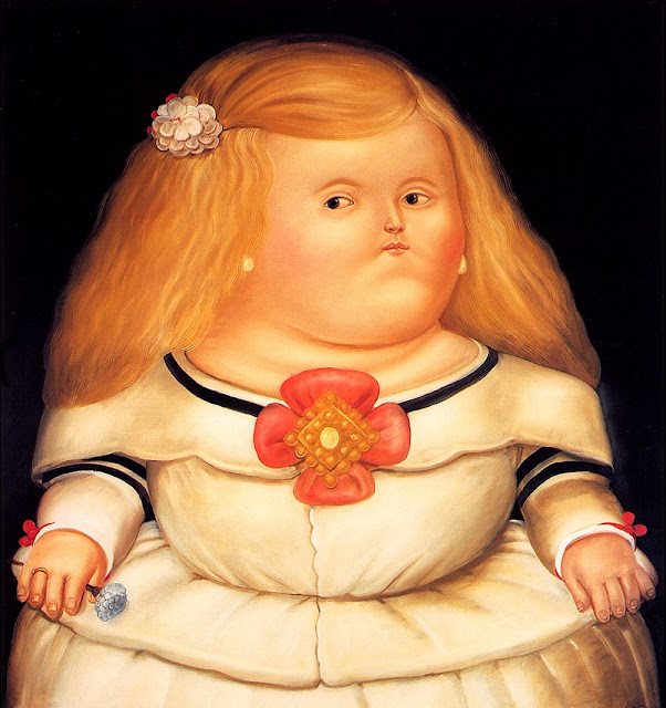 Best of Fat Blonde Painting