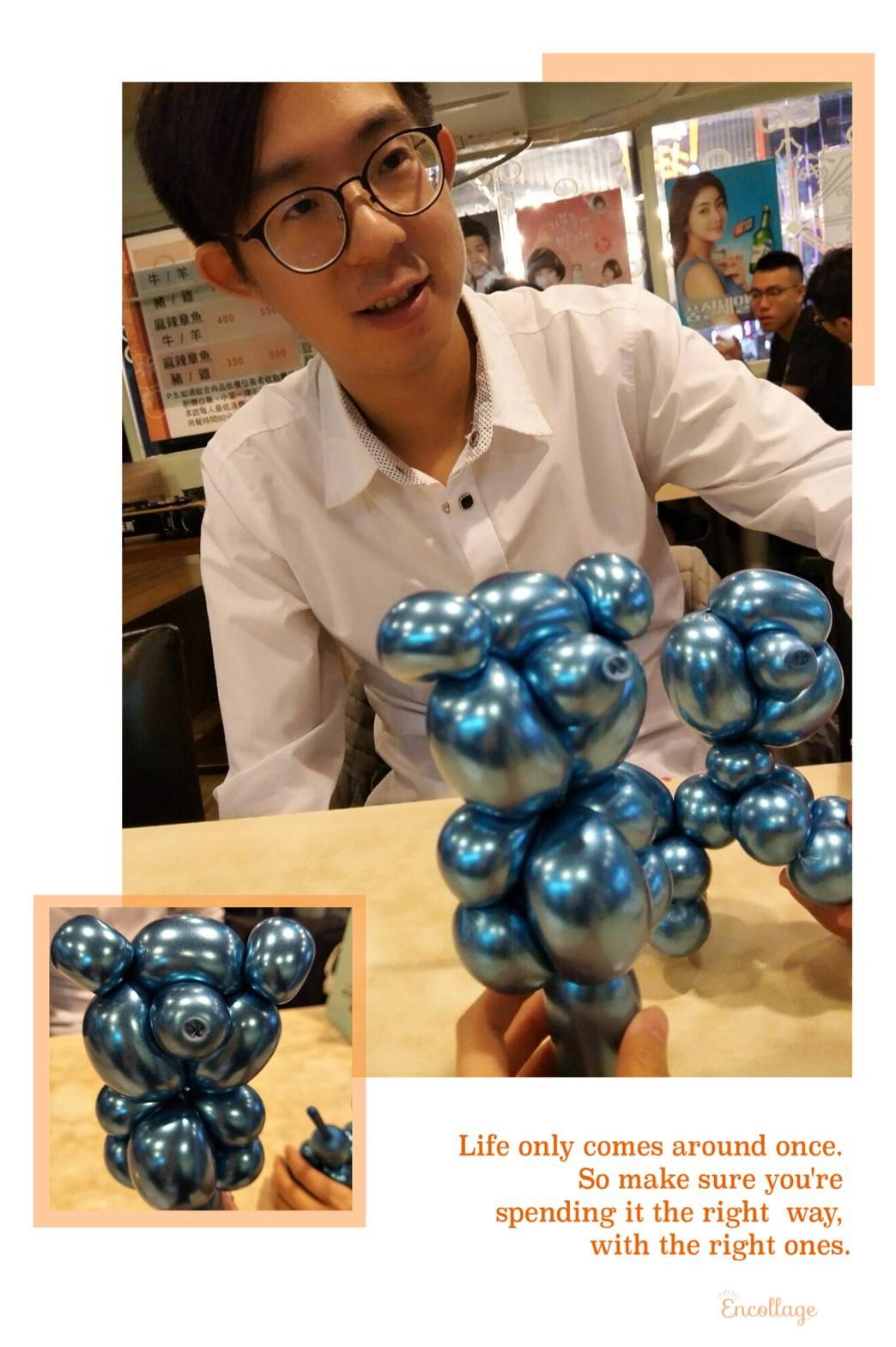 氣球小狗&氣球小熊