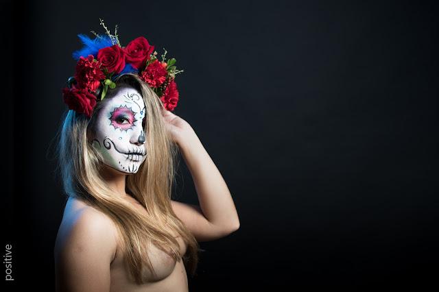 Catrina, la diosa de la muerte, que se venera en México y América Central durante el Día de los Muertos