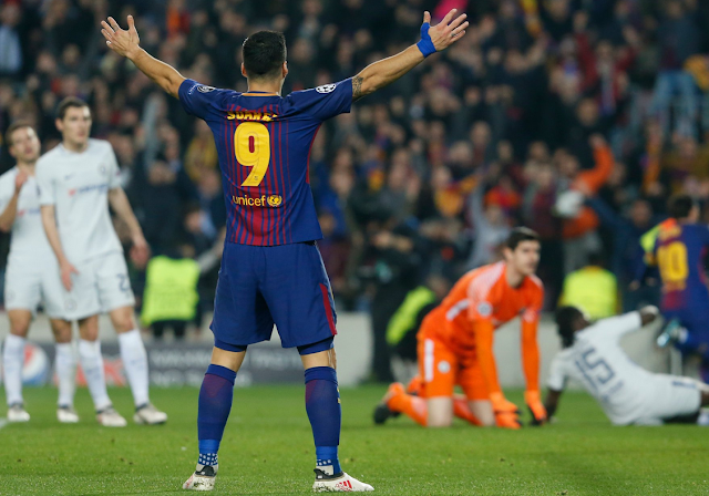 Cuplikan Pertandingan Liga Champions: Barcelona 3-0 Chelsea