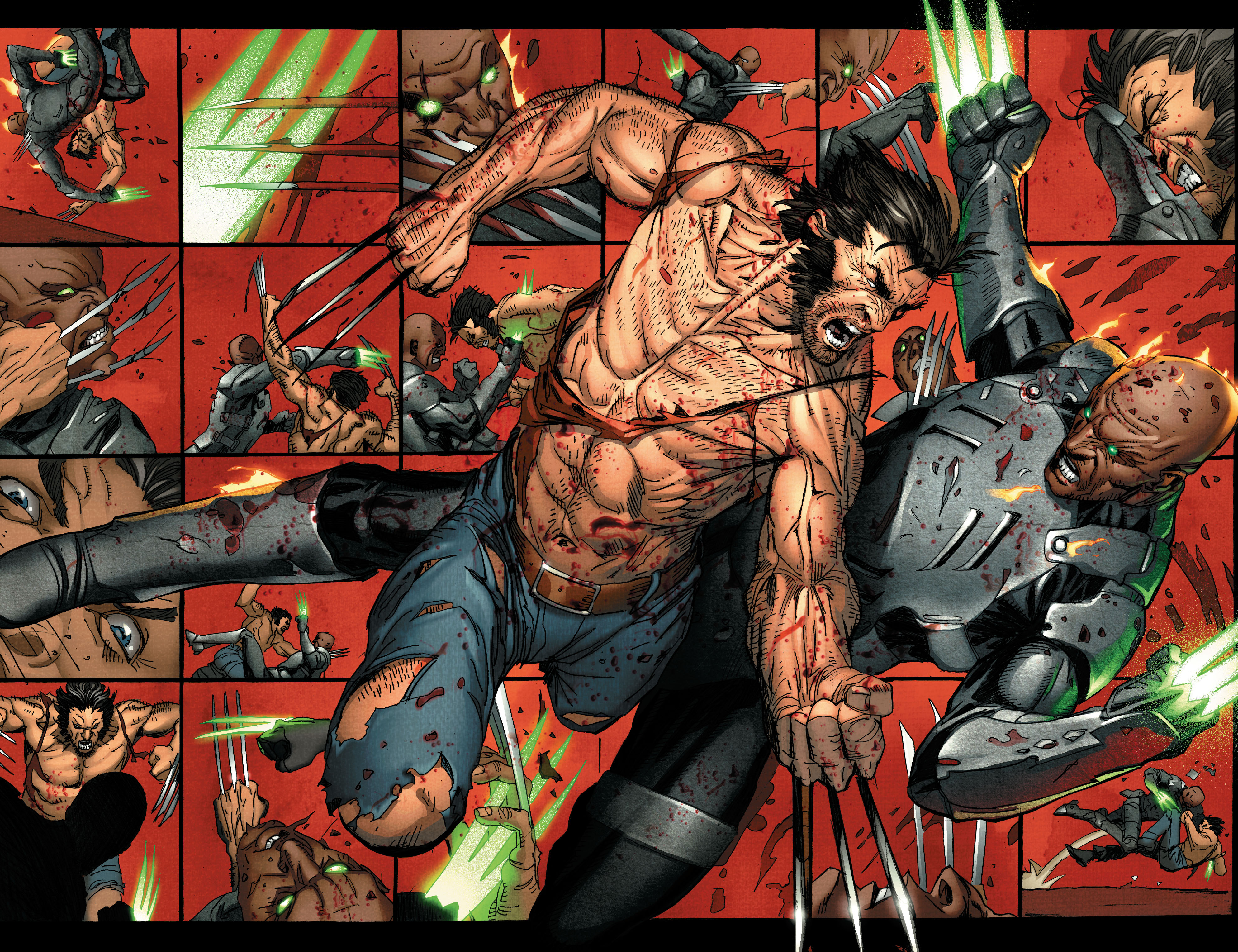 Read online Wolverine: Weapon X comic -  Issue #4 - 20