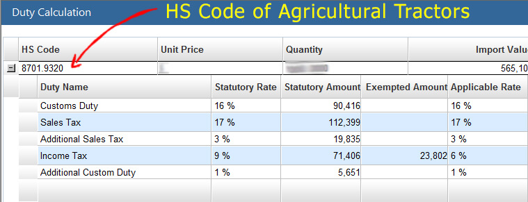Agricultural-Tractors-custom-duty-HS-Code-of-Agricultural-Tractors