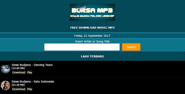 10 Situs Download Lagu Terbaik dan Terlengkap Tanpa Ribet
