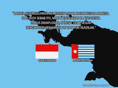Konstitusi Menjamin Indonesia untuk Melepaskan West Papua