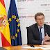 """Feijóo pide estabilidad ante las """"borrascas"""" que se asoman y critica la """"crispación"""" que atenaza política nacional"""