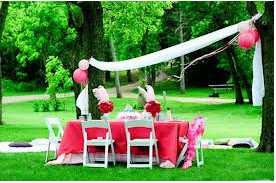 Ideas to decorate the garden for a childrens party Big Solutions