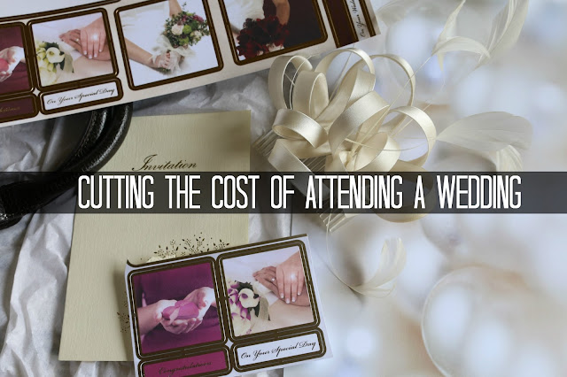 Cutting the cost of attending a wedding