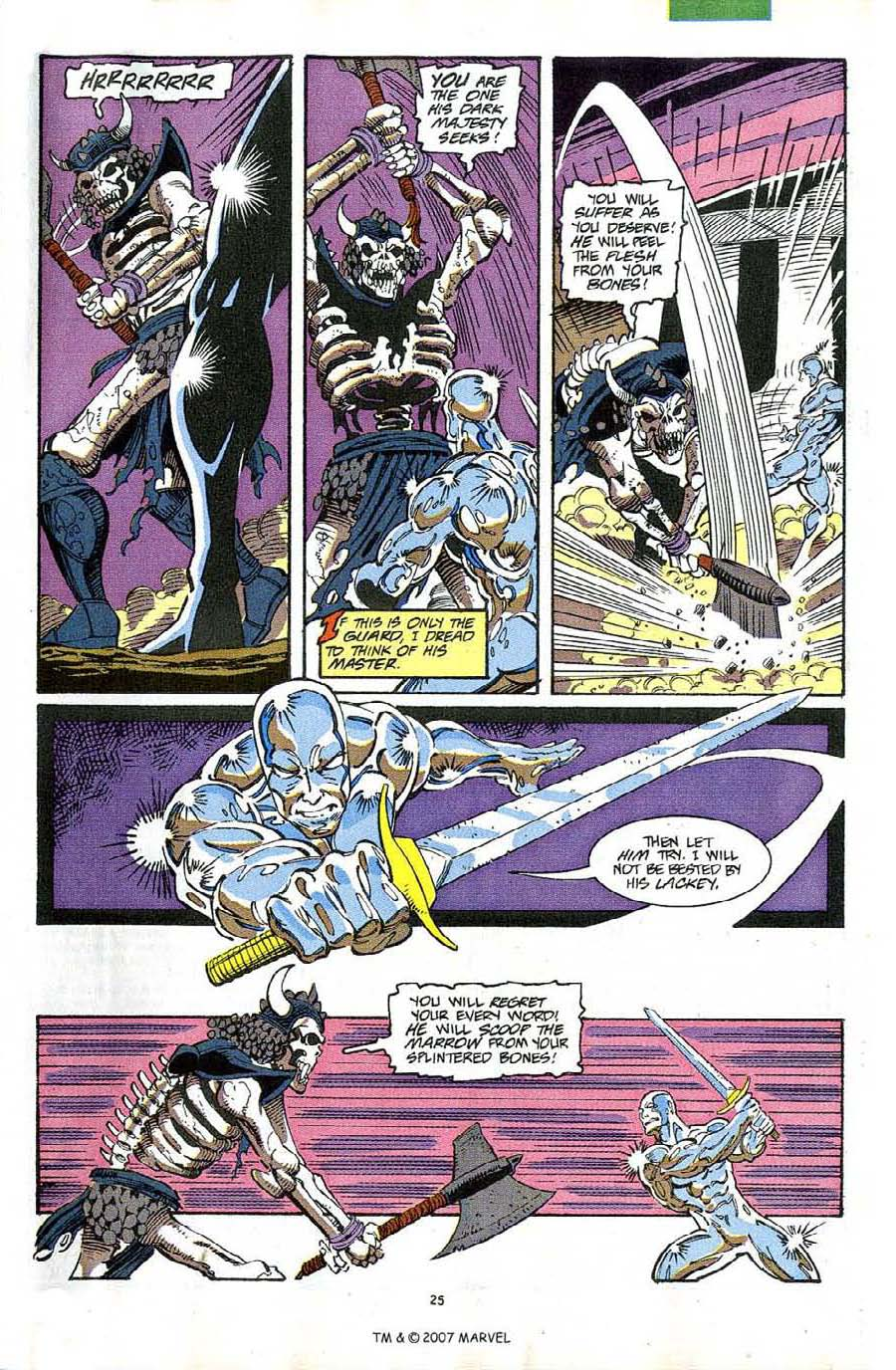 Read online Silver Surfer (1987) comic -  Issue #63 - 27