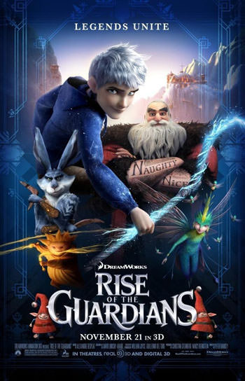 Rise of the Guardians 2012 Dual Audio