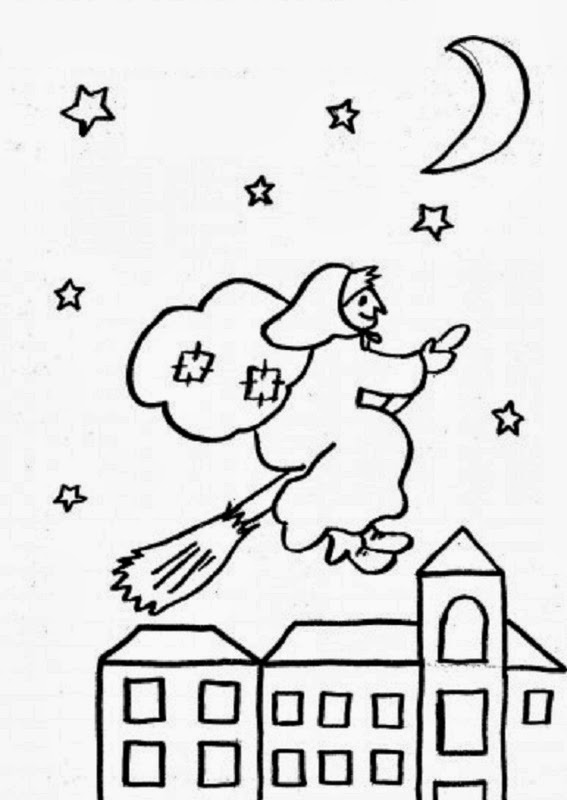 La Befana Disegni Da Colorare Epiphany Coloring Pages Blog