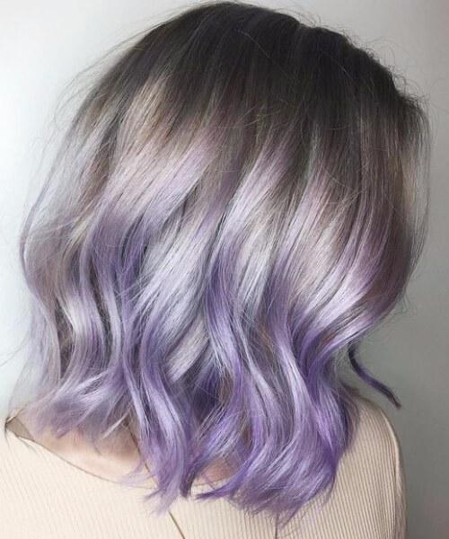 Dirty Snow Kurze Haar Ombre Frisuren Trend 123