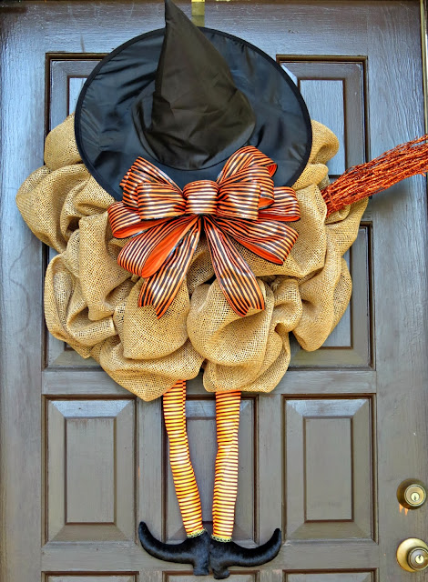 DIY Witch Wreath - Reasons to Come Home