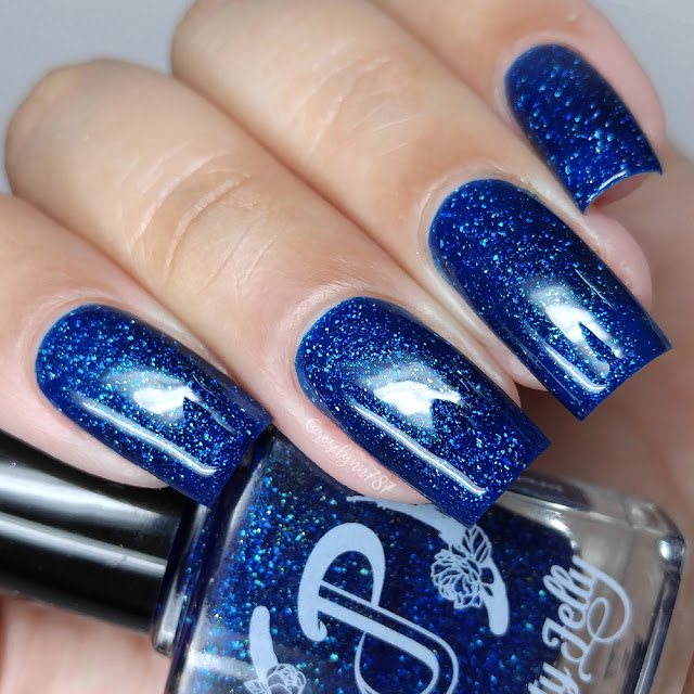 Pretty Jelly Nail Polish - Bluefire