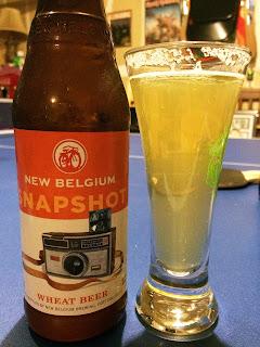 New Belgium Snapshot Wheat Beer 1