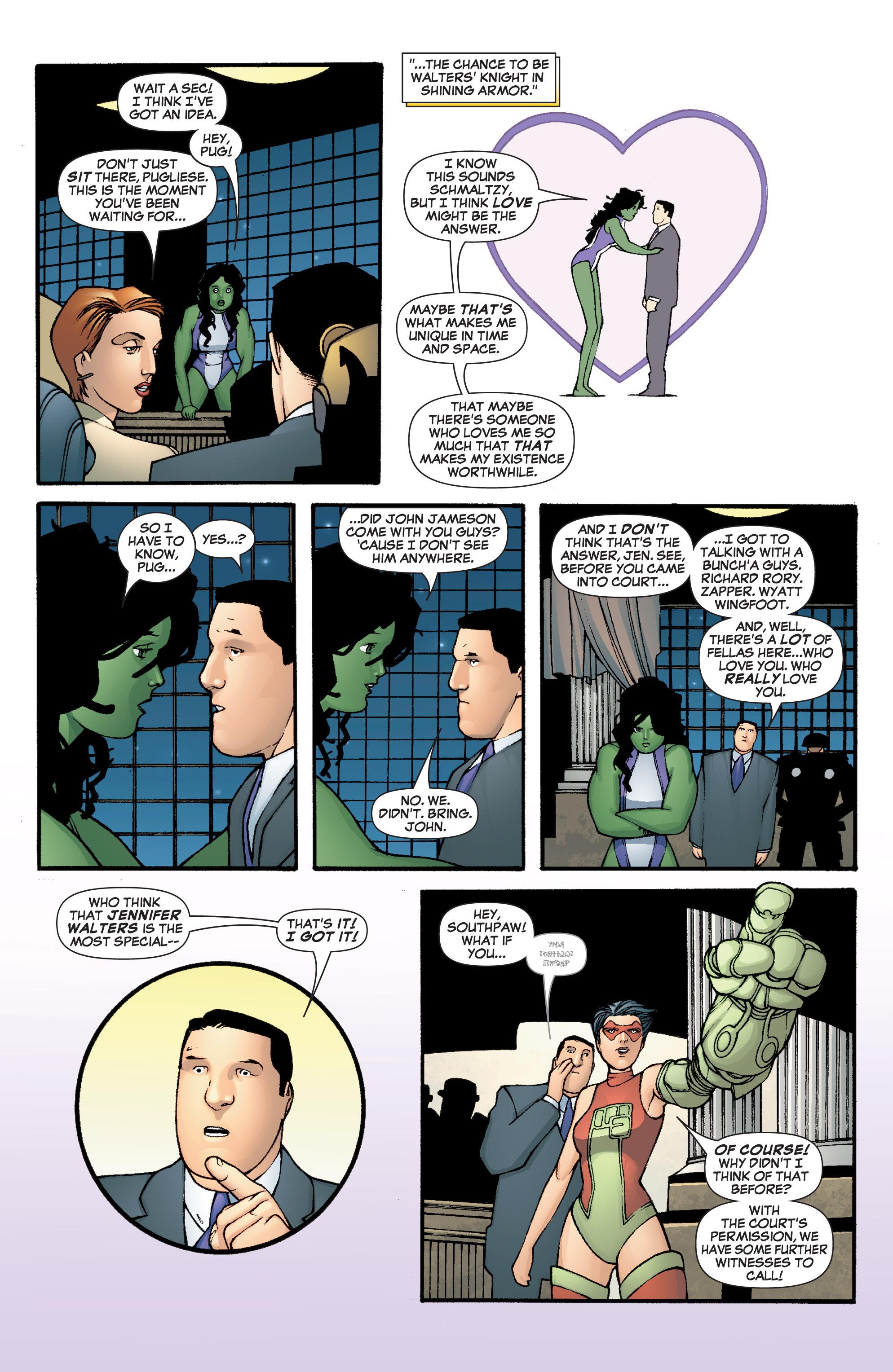 Read online She-Hulk (2005) comic -  Issue #3 - 34